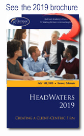 HeadWaters Conference brochure