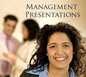 Management Presentations