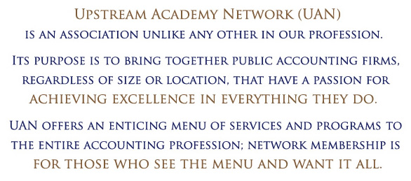 Upstream Academy Network